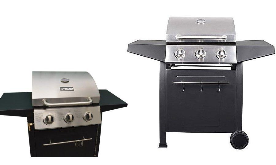 Interline Nexgrill Gasbarbecue met 3 Branders