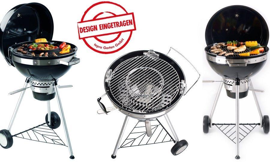 Tepro Philadelphia Design Kogelbarbecue Ø47cm met Inzetrooster Systeem