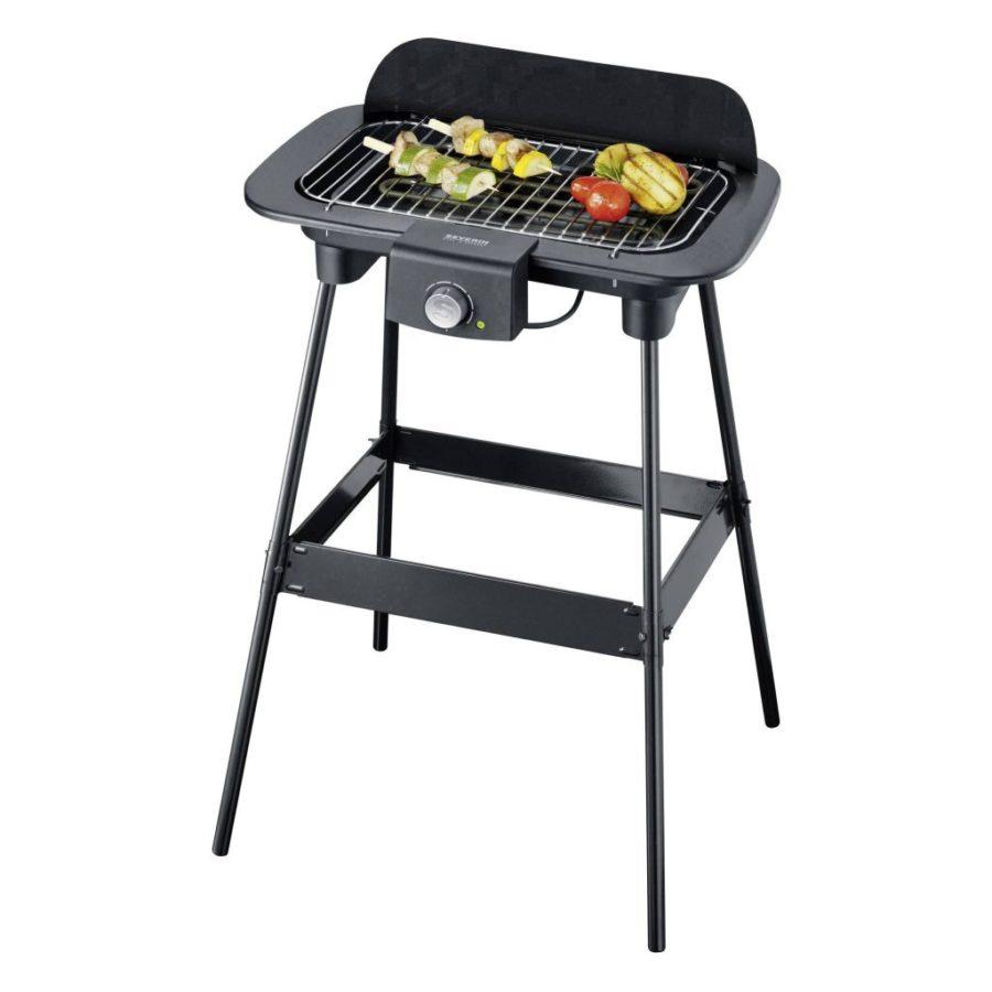 Severin PG8550 Elektrische Barbecue Zwart
