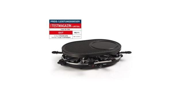 Tristar RA-2996 Raclette met Crepebakgedeelte